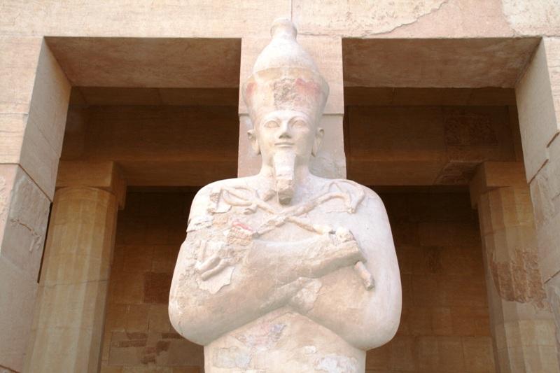 Hatshepsut Funeral Pose