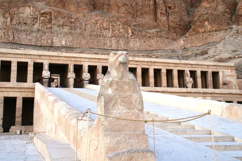 Hatshepsuts Temple Falcon