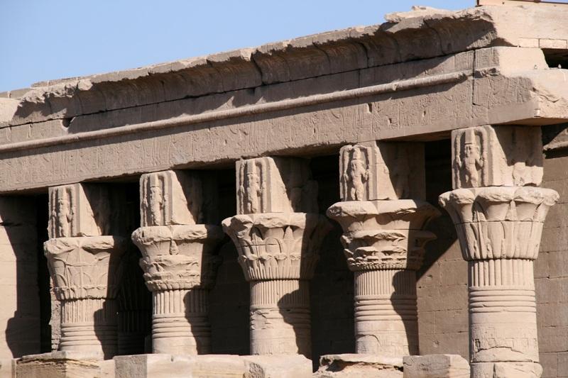 Hathor Columns